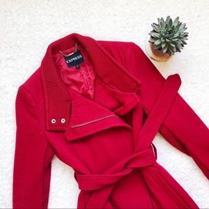Red Express coat